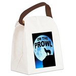 WOLF PROWL Canvas Lunch Bag