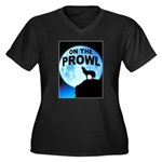 WOLF PROWL Plus Size T-Shirt