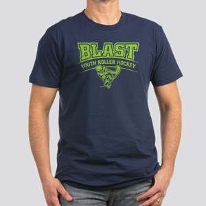Bright Green On Men's Fitted T-Shirt (dark)