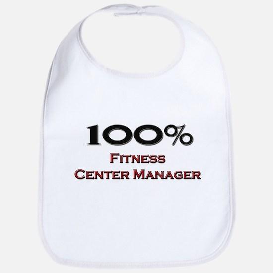 100 Percent Fitness Center Manager Bib