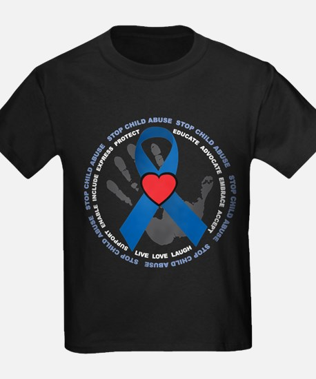 Stop Child Abuse Ribbon T