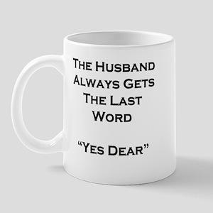 Last Word Mug
