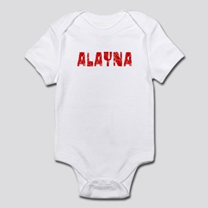 Alayna Faded (Red) Infant Bodysuit