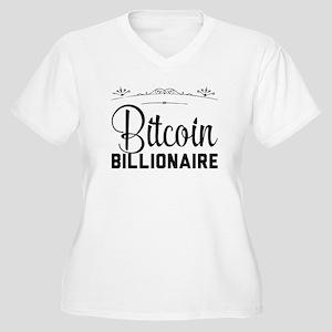 Bitcoin Billionaire Plus Size T-Shirt