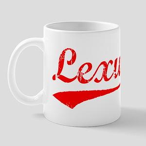 Vintage Lexus (Red) Mug