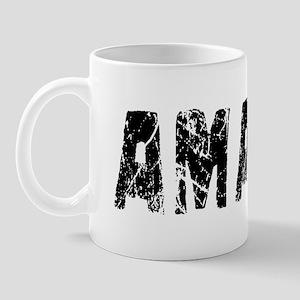 Amari Faded (Black) Mug