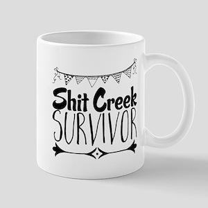 Shit Creek Survivor Mugs