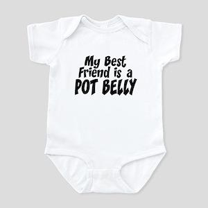 Pot Belly BEST FRIEND Infant Bodysuit