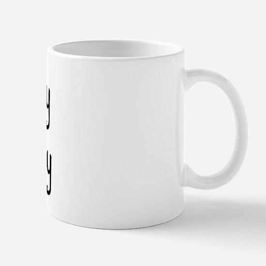 I LOVE MY Pot Belly Mug