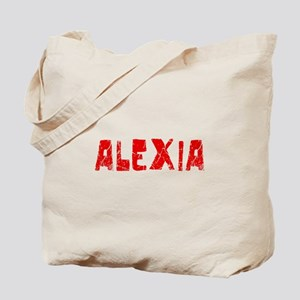Alexia Faded (Red) Tote Bag