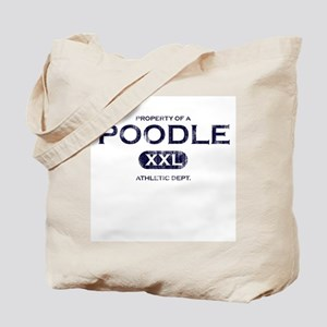 Property of Poodle Tote Bag