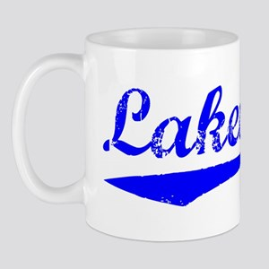 Vintage Lakewood (Blue) Mug