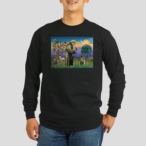 St Francis / Nor Elk Long Sleeve Dark T-Shirt