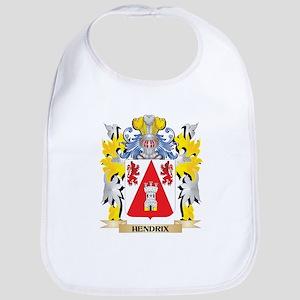 Hendrix Coat of Arms - Family Crest Baby Bib