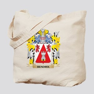 Hendrix Coat of Arms - Family Crest Tote Bag