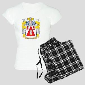 Hendrix Coat of Arms - Family Crest Pajamas