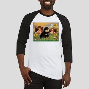 Angels / Pomeranian (b&t) Baseball Jersey