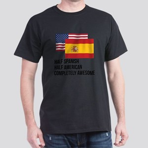 Half Spanish Completely Awesome T-Shirt