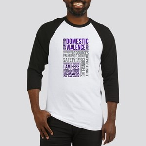 Domestic Violence Survivor Baseball Jersey