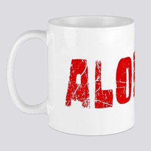 Alonzo Faded (Red) Mug