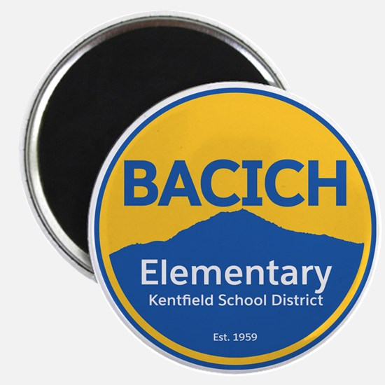 Bacich Elementary School Colors Magnets