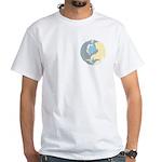 Spirit Of The North Men's White T-Shirt