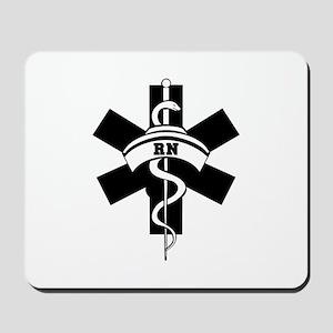 RN Nurses Medical Mousepad