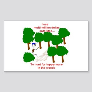 Geocaching Rectangle Sticker