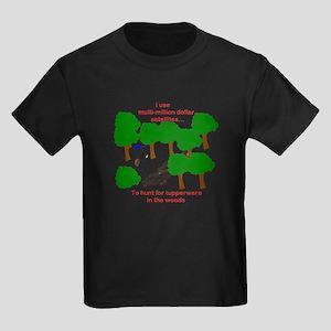 Geocaching Kids Dark T-Shirt