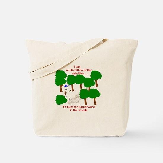 Geocaching Tote Bag