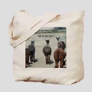 KSC 2 sided photo Alpaca Tote Bag