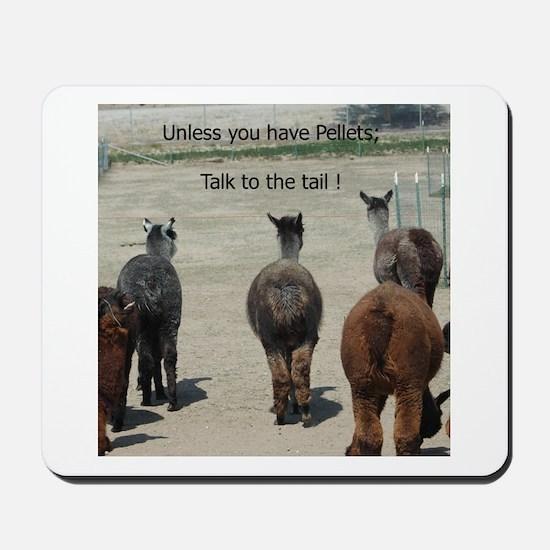 KSC Alpaca Talk to the Tail Mousepad
