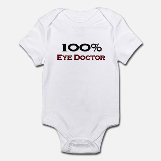 100 Percent Eye Doctor Infant Bodysuit