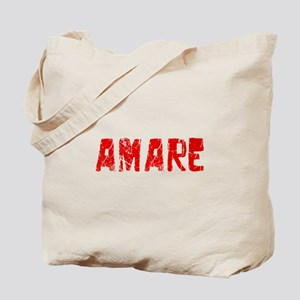Amare Faded (Red) Tote Bag