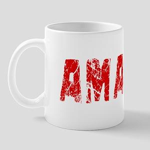 Amari Faded (Red) Mug