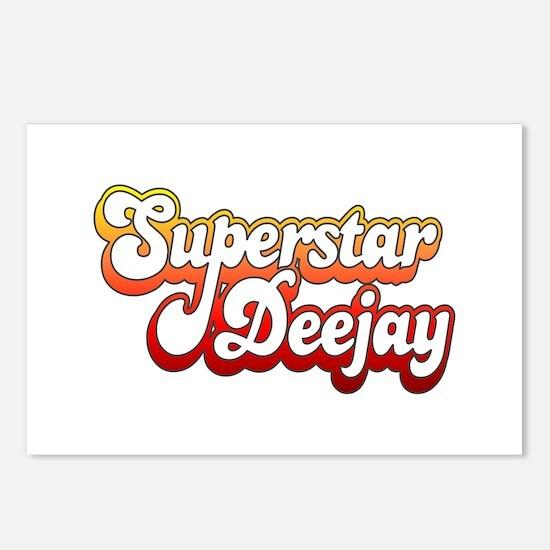 SuperStar DeeJay Postcards (Package of 8)