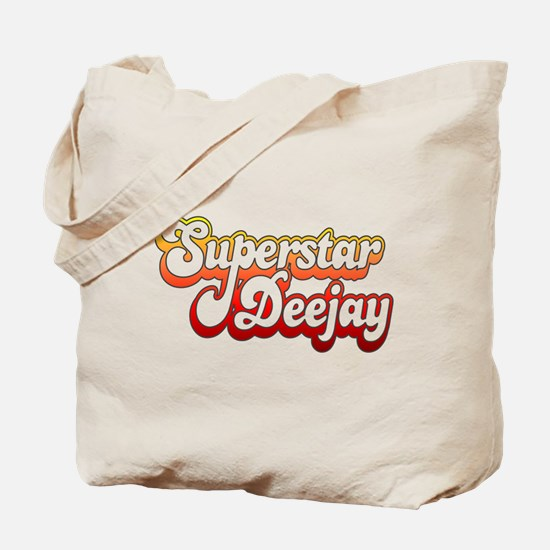 SuperStar DeeJay Tote Bag
