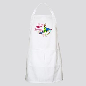 It's My 30th Birthday (Party Hats) BBQ Apron