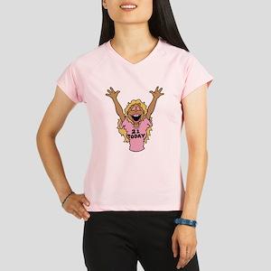 21todayblacktrans Performance Dry T-Shirt