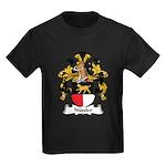 Nussler Family Crest Kids Dark T-Shirt