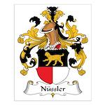 Nussler Family Crest Small Poster