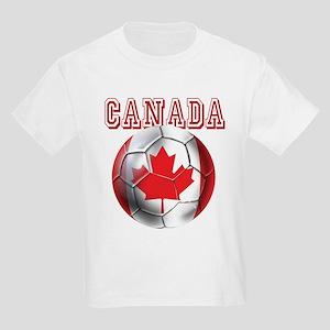 Canadian Soccer Ball Kids Light T-Shirt