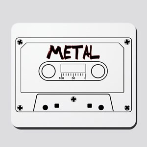 Metal Music Tape Cassette Mousepad