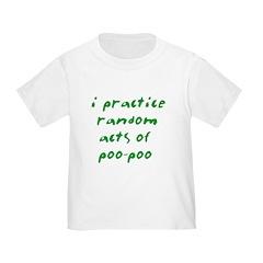 random acts of poo-poo T