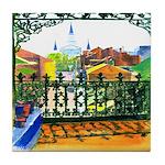 French Quarter Street Tile Coaster