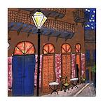 Night Cafe Tile Coaster