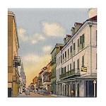 Old French Quarter Tile Coaster