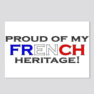 Proud to be French Postcards (Package of 8)