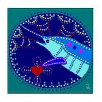 Marlin Tile Coaster