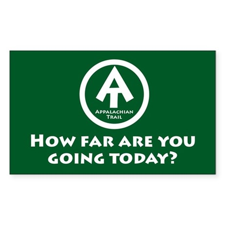 """At """"How Far You Going"""" Sticker"""